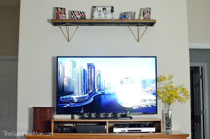 Before Mounting TV with Legrand