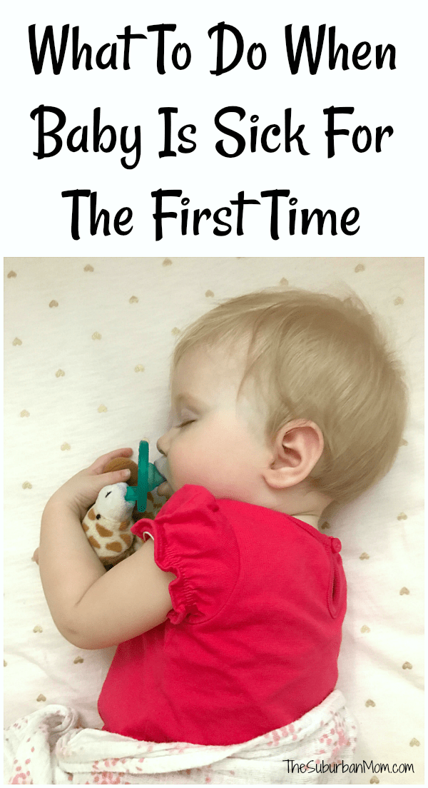 What To Do When Your Baby Is Sick
