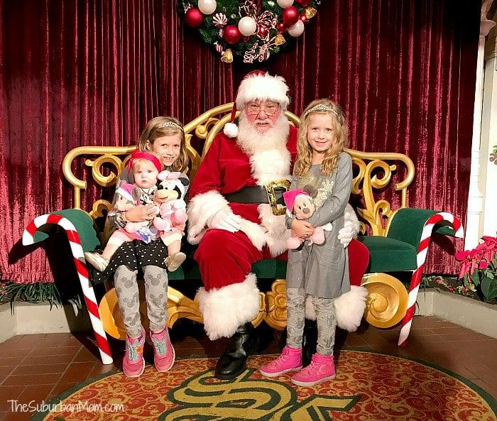 Santa At Disney