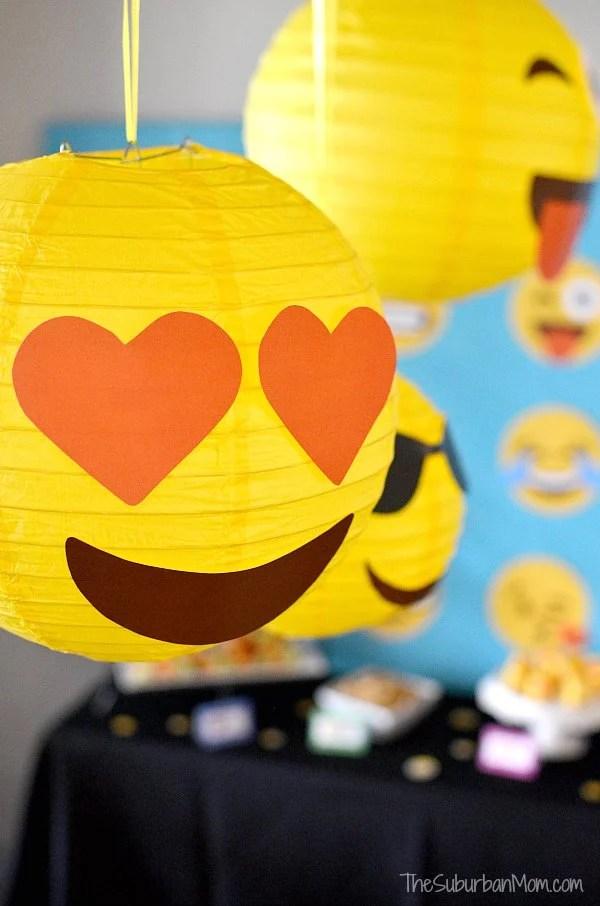 Emoji Paper Lanterns