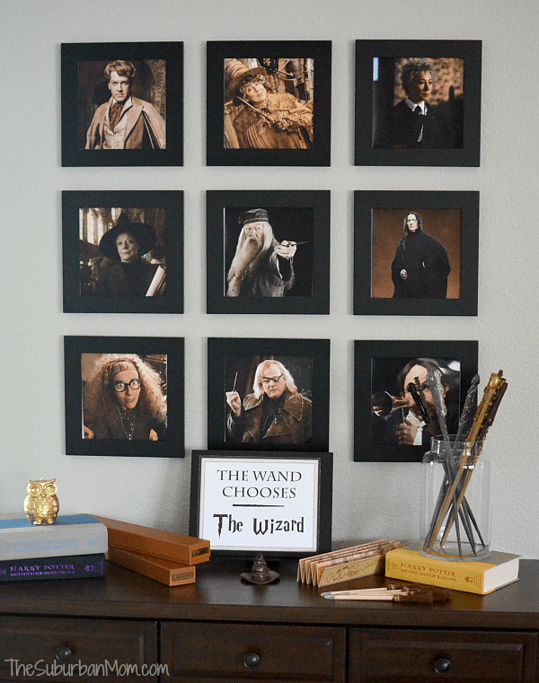 picture relating to Hogwarts Portraits Printable called The Greatest Harry Potter Birthday Occasion Strategies