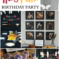 Harry Potter Birthday Party Ideas - Printables, Decorations, DIY Projects & More