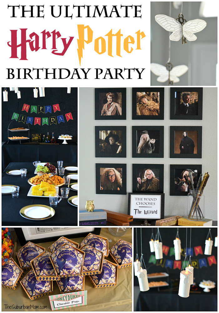 picture about Harry Potter Potion Book Printable called The Top Harry Potter Birthday Celebration Recommendations