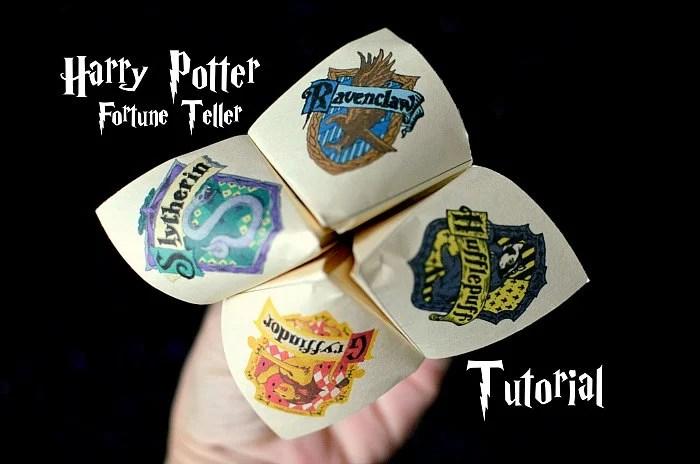 Harry Potter Fortune Teller Tutorial