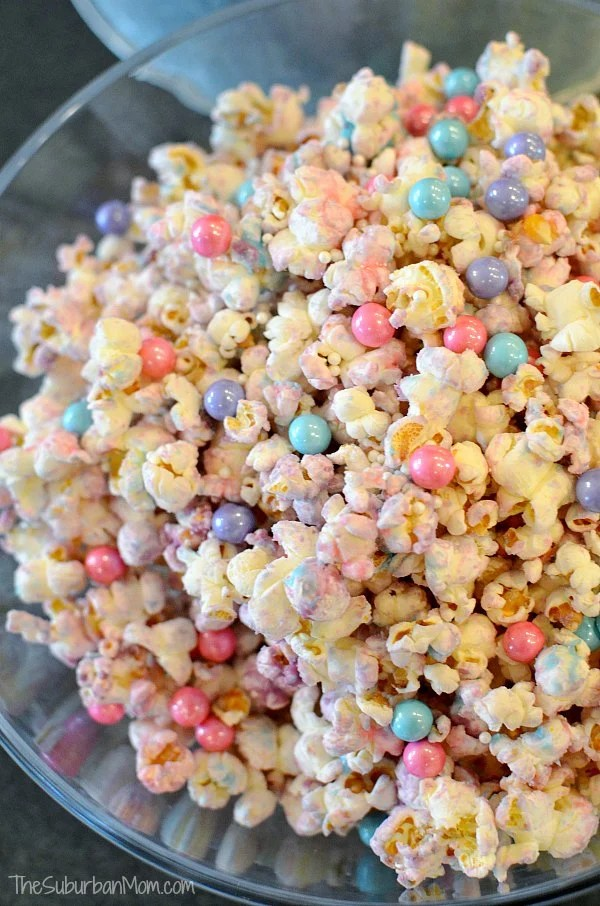Unicorn party ideas, Unicorn Popcorn Party Food