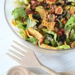 Beef Taco Salad Recipe From Best Meals Happen at Home