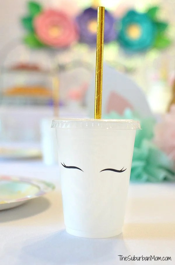 DIY Unicorn Cup