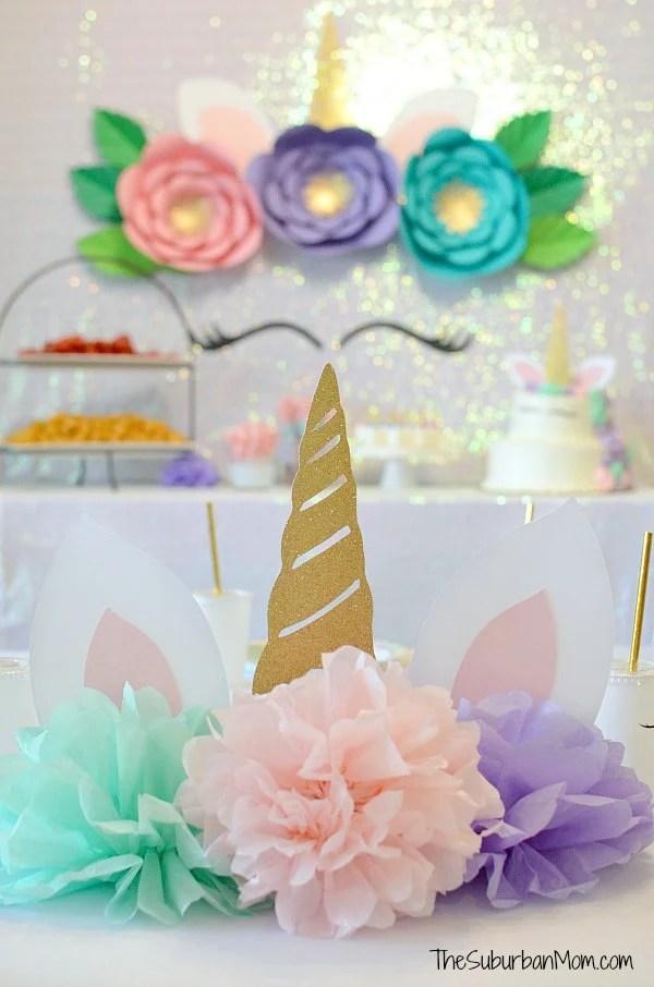 Unicorn Birthday Party Decorations