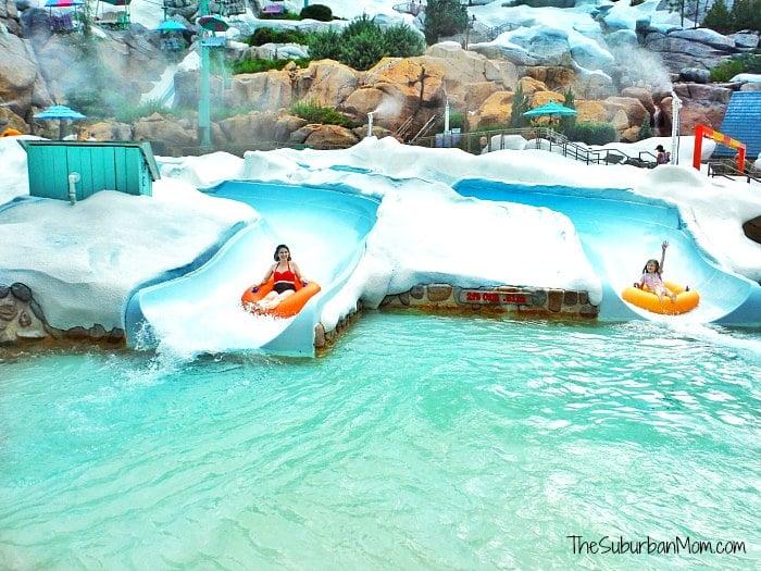 Blizzard Beach Water Slide
