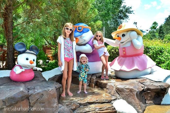 Disney Blizzard Beach Snowmen