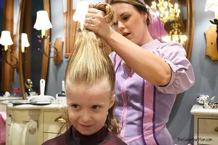 Bibbidi Bobbidi Boutique Princess Makeover