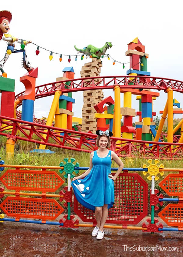 Disney Bounding Andy's Room Toy Story Land