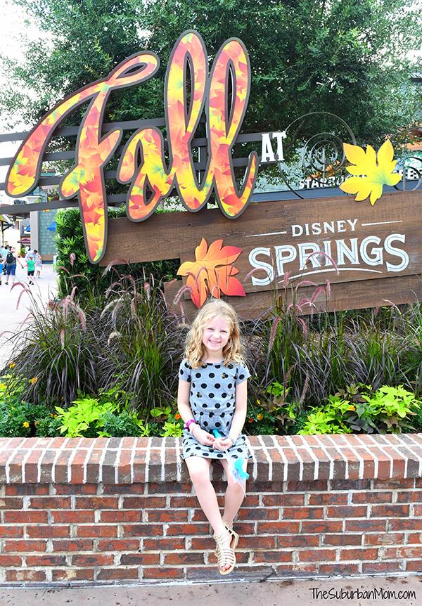 Fall At Disney Springs