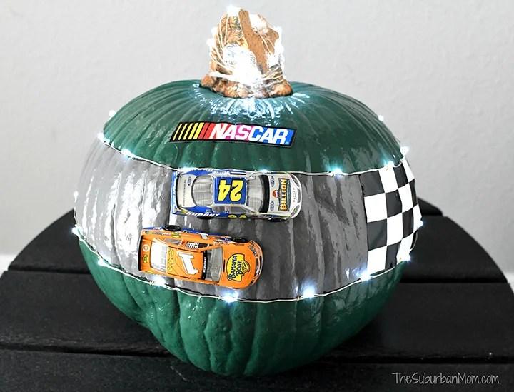 NASCAR Pumpkin
