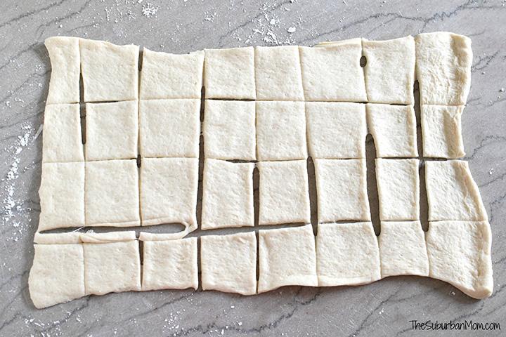 Pizza Dough Slices