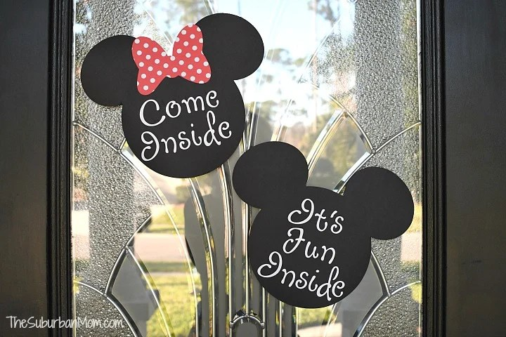 graphic relating to Come Inside It's Fun Inside Free Printable identify Minnie Mouse Birthday Occasion Guidelines - The Suburban Mother
