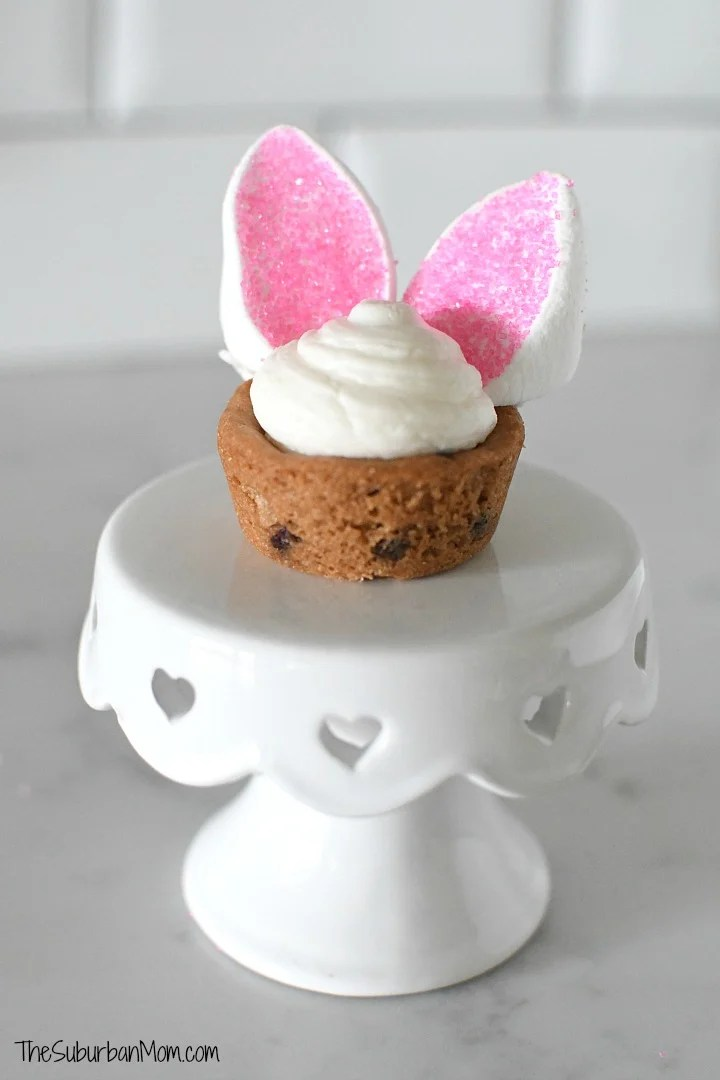 Easter Bunny Cookie Cup