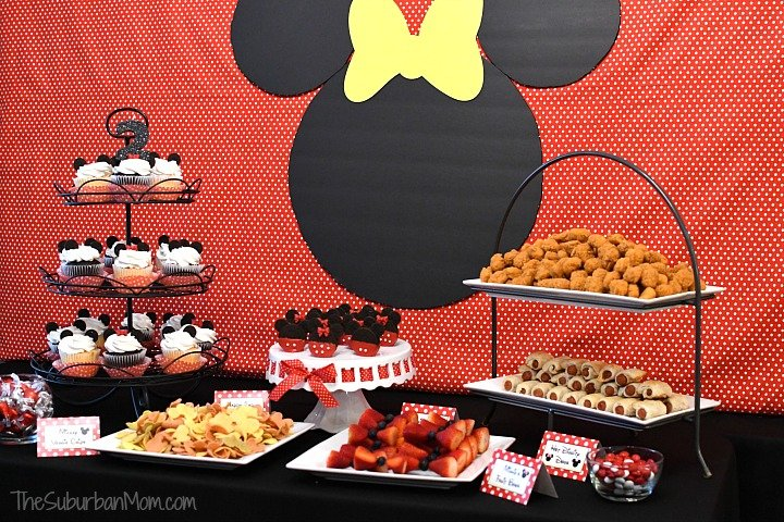 minnie mouse birthday party ideas the