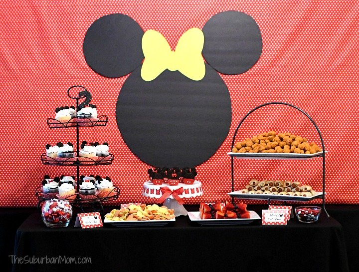 Minnie Mouse Birthday Party Ideas The Suburban Mom