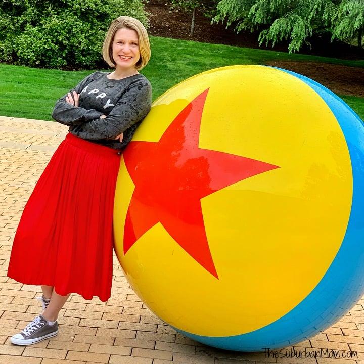 Luxo Ball Pixar Studios