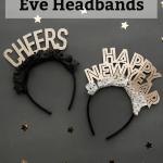 DIY New Year's Eve Headbands