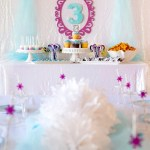 Beautiful Frozen Birthday Party