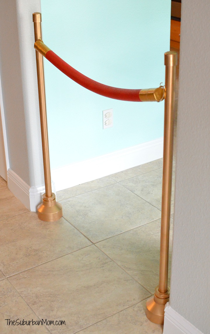 DIY Movie Stanchions