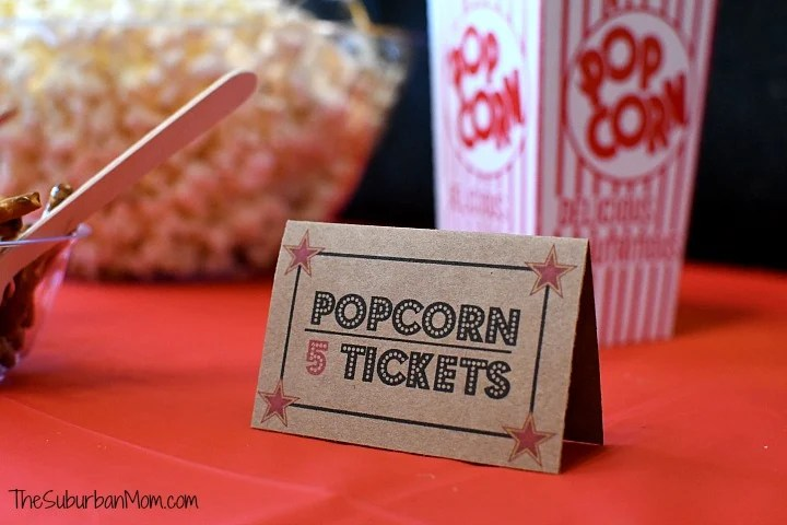 Movie Party Printables