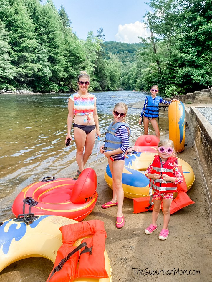 Blue Ridge Georgia Tubing