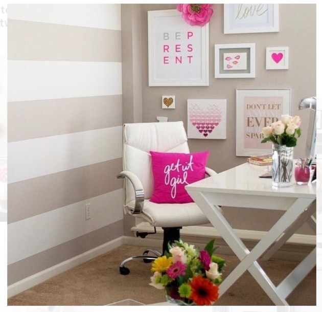 Pinterest Favorites chic home offices