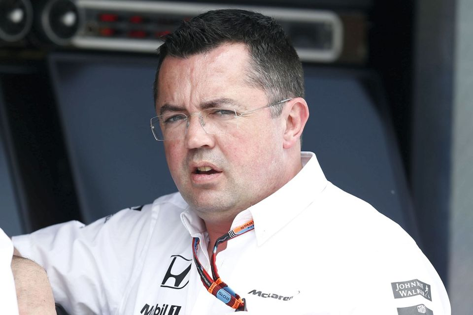 Eric Boullier left McLaren this week after joining in 2014
