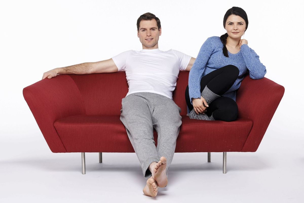 Sitting comfortably Your sofa position says a lot about your relationship  The Sun