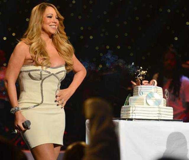 Mariah Carey Onstage At The So So Def 20th Anniversary Concert At The Fox Theater On