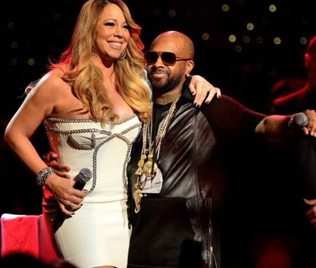 Mariah Carey And Jermaine Dupri On Stage At The So So Def 20th Anniversary Concert At