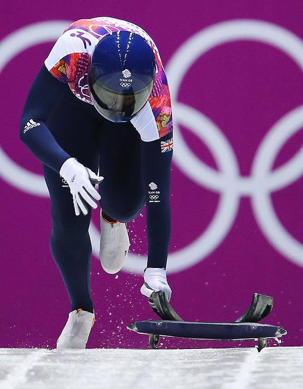 Lizzie Yarnold is one of five athletes for Team GB who won a medal in Sochi 2014 and is back for the 2018 Games