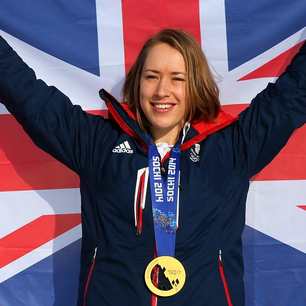 Olympic and world champion Lizzy Yarnold is hoping to retain her title in the skeleton