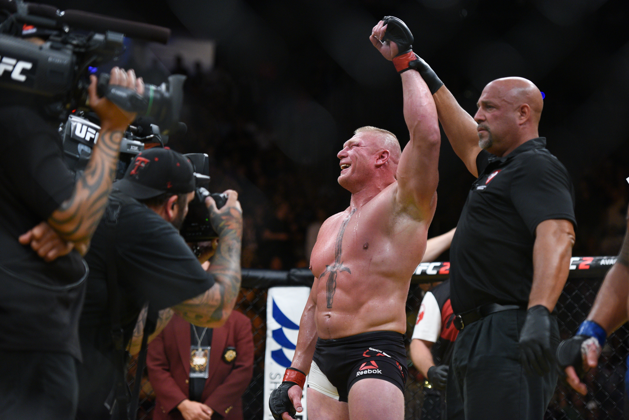 Brock Lesnar is tipped to return to MMA in January 2019