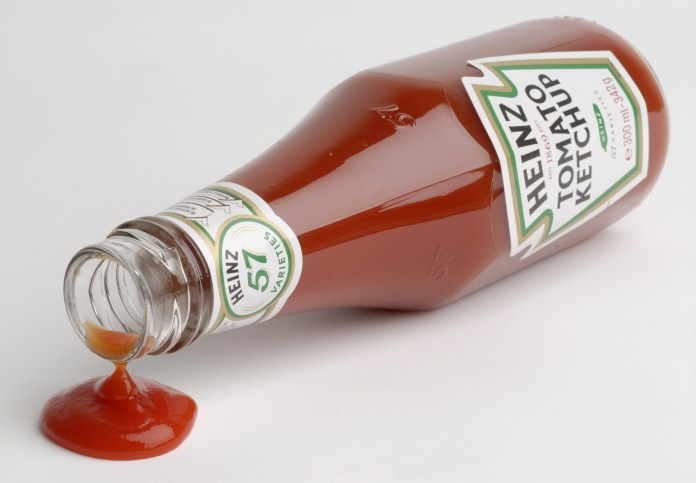 Image result for The number on a ketchup bottle