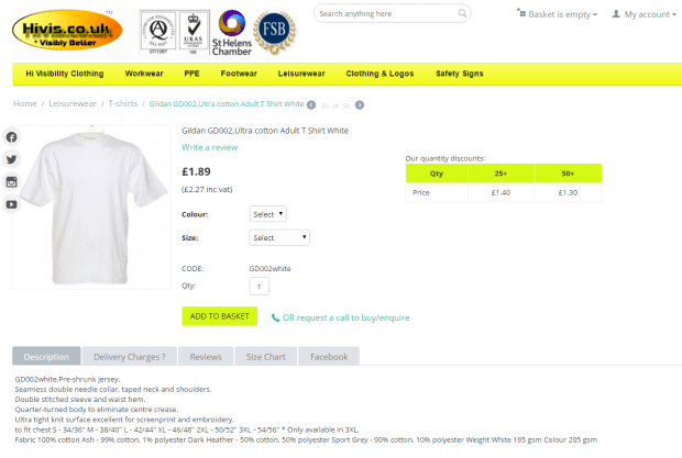 Kanye's T-£70 T-shirts have been printed on cheap T-shirts that cost a few pounds each