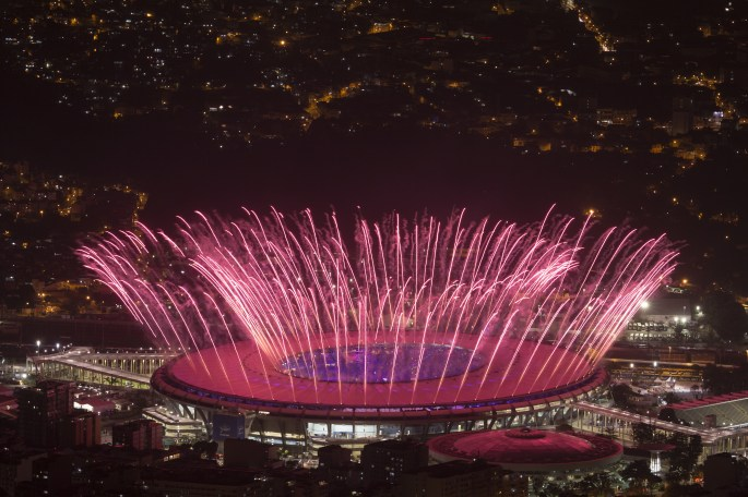 The Rio 2016 Olympic Games officially began with a colourful opening ceremony