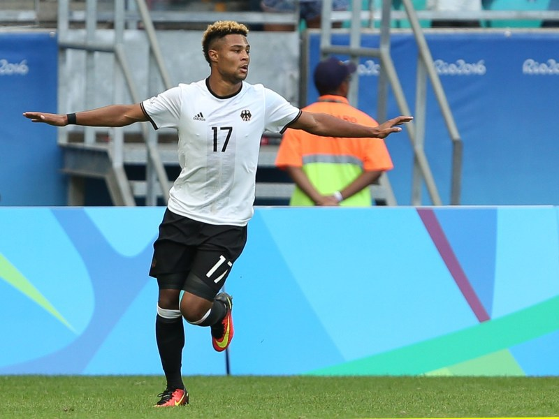 Rio Olympics 2016: Arsenal starlet Serge Gnabry attracts Bundesliga bid  after Germany goal haul