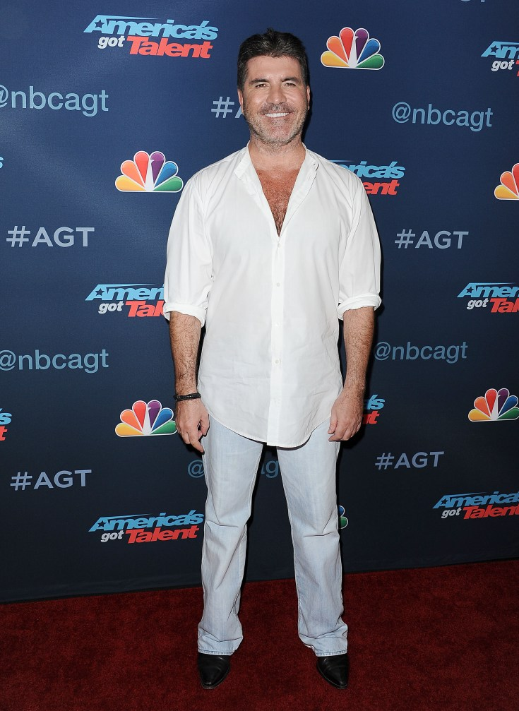 X-factor judge Simon Cowell is part of the 2,000 club