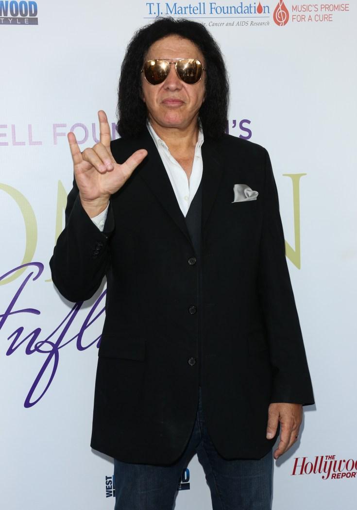 Kiss rocker Gene Simmons has slept with around 4,600 ladies