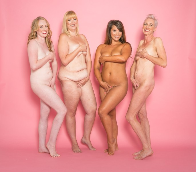 Four women bare all to confront body confidence issues