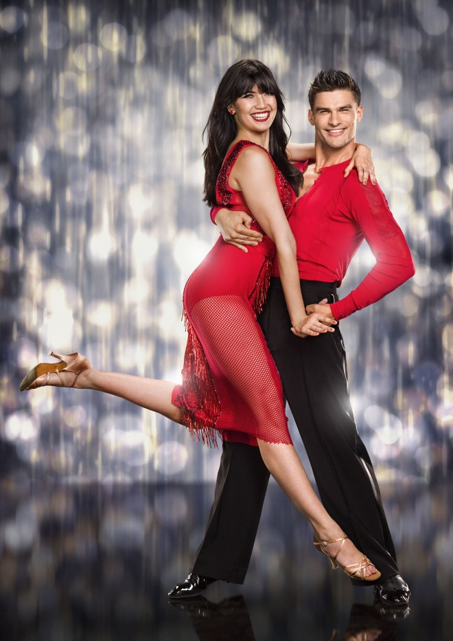 Daisy and Aljaz Skorjanec competed on Strictly Come Dancing in 2015