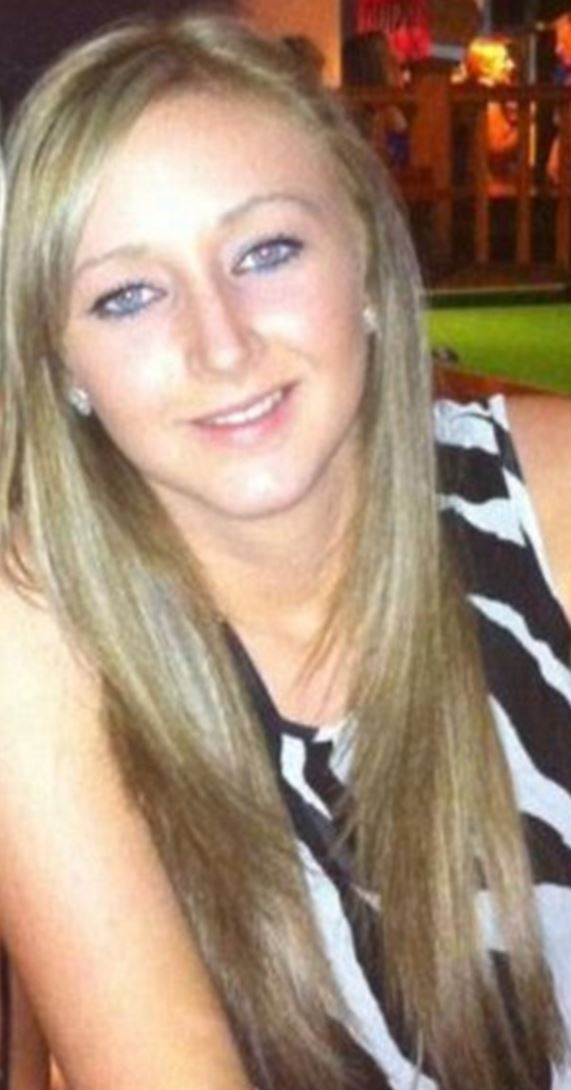 Hannah Powell, 20, has been left blinded by a drink containing highly toxic methanol