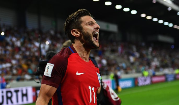 Adam Lallana grabbed a late winner for the Three Lions