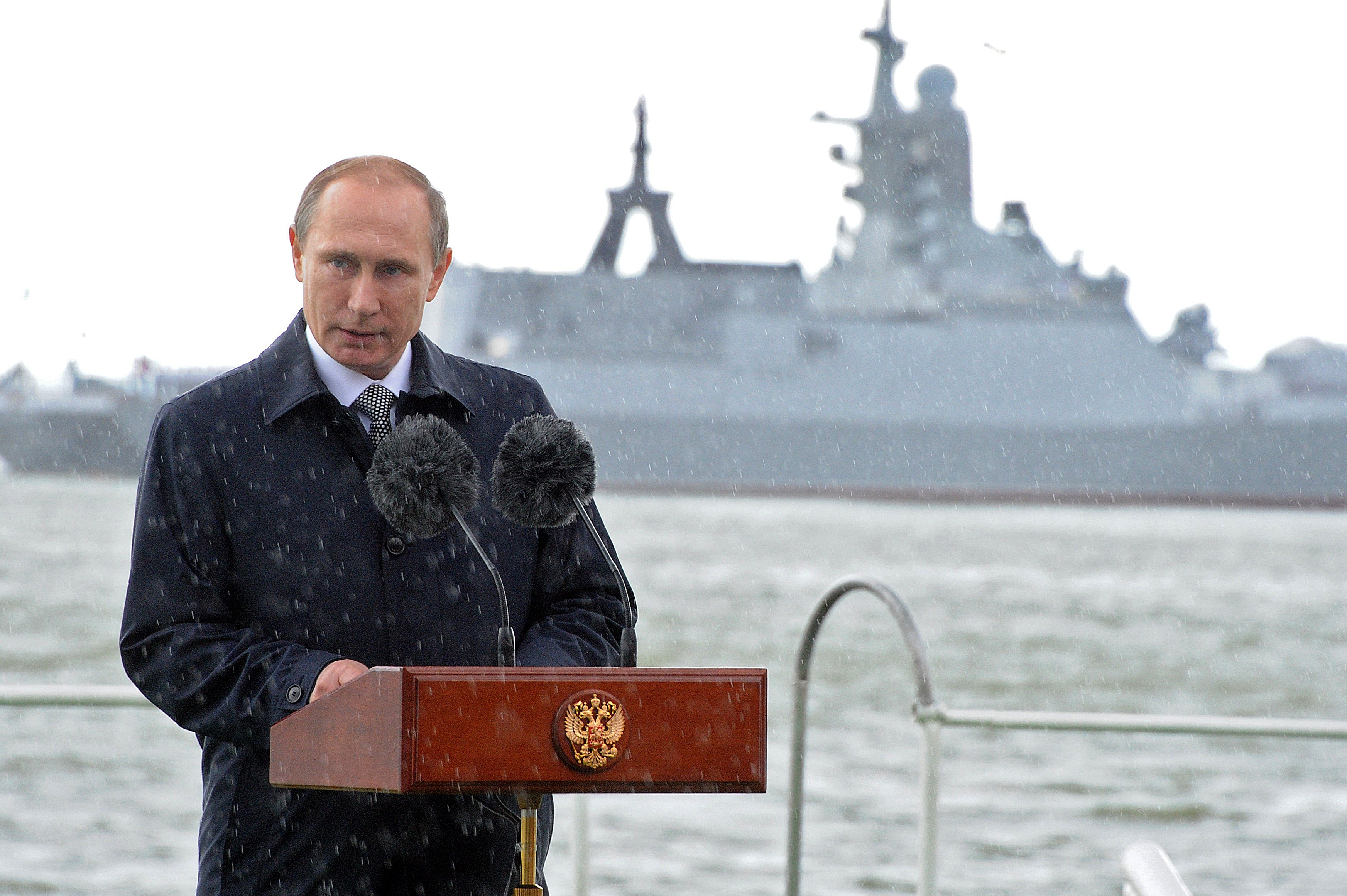 The move is the latest piece of sabre-rattling from Moscow, led by President Vladimir Putin