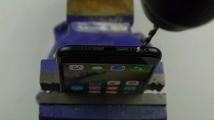 iPhone 7 drill