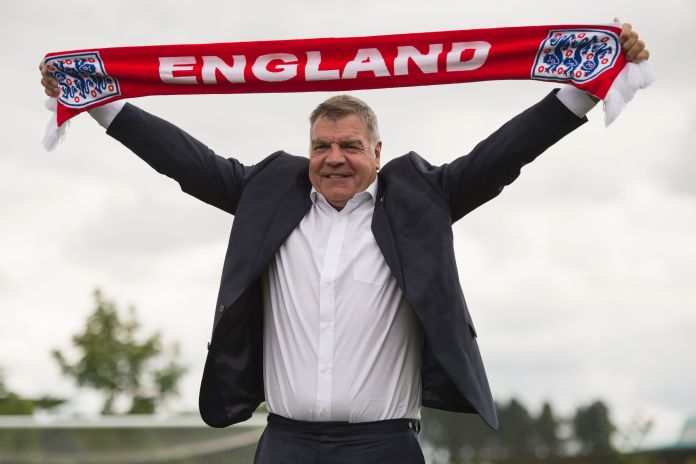 Sam Allardyce was only unveiled as England manager on July 25